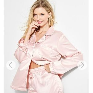 Guess Satin Pajama Set